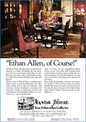 Portfolio - Ethan Allen Magazine Ad